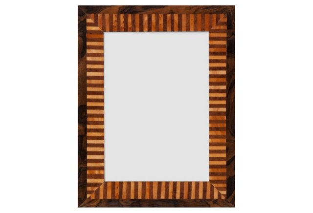 Liberace Frame, 5x7, Brown