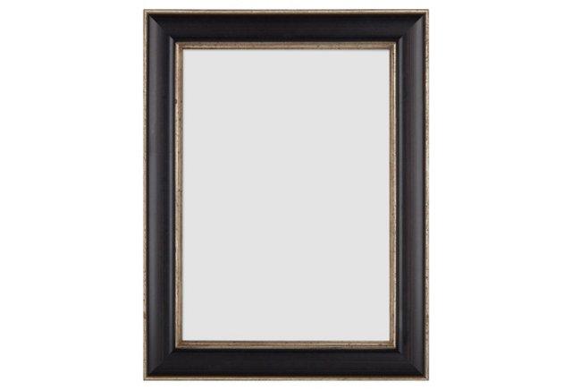 Finezza Frame, 5x7, Black/Silver