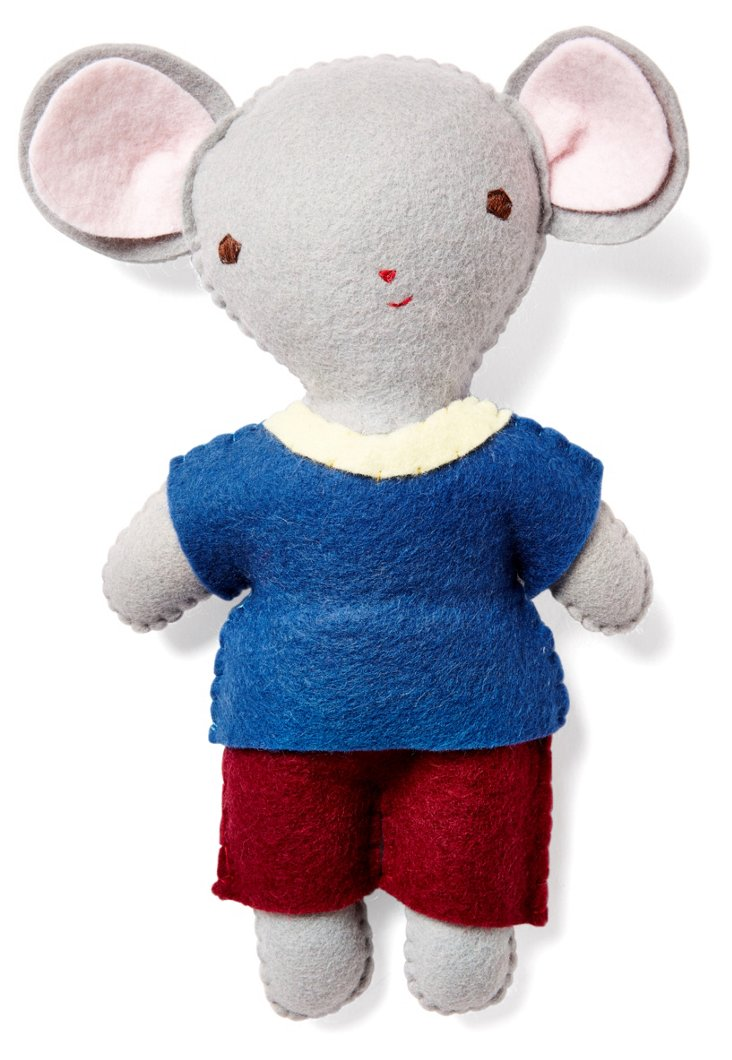 Mouse Boy Stuffed Companion