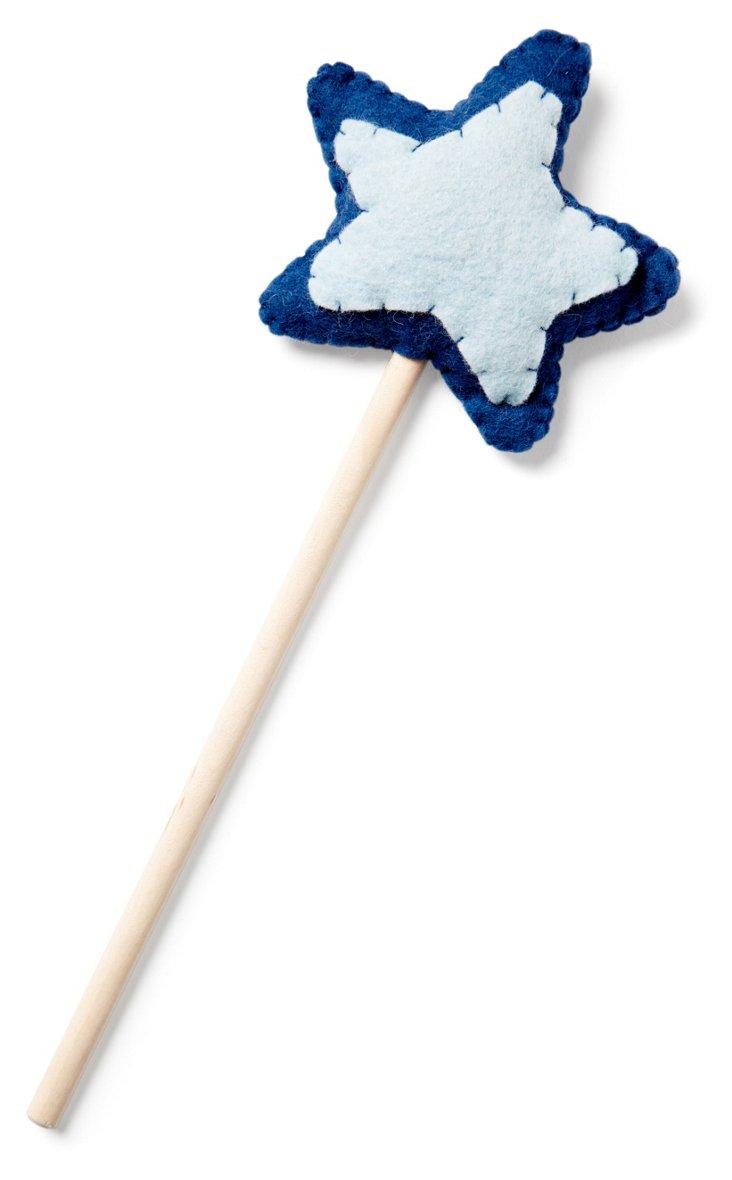 Blue Star Wand