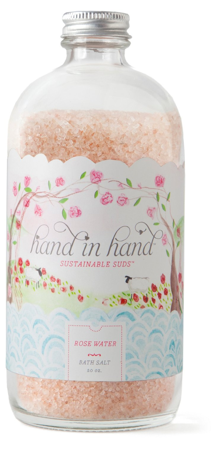 Rose Water Bath Salt