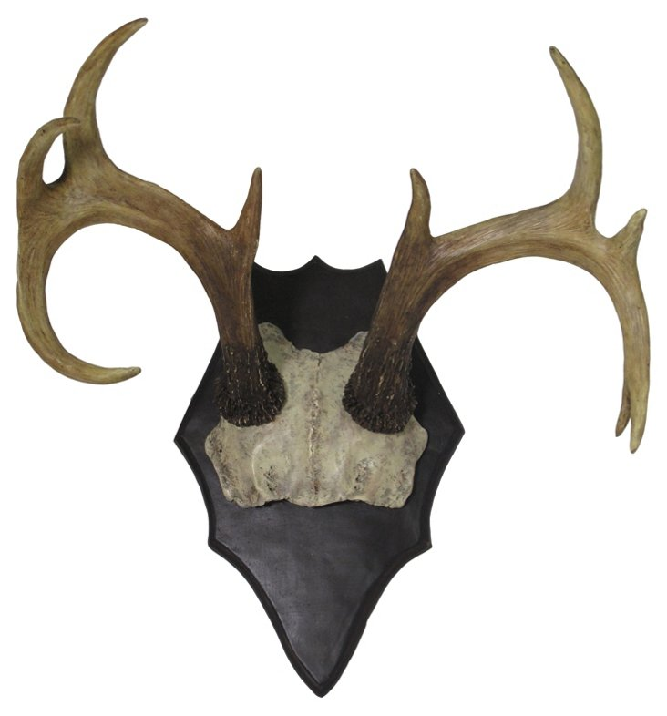 Faux Antler Wall Decor, Natural