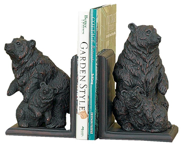 Pair of Bear Bookends