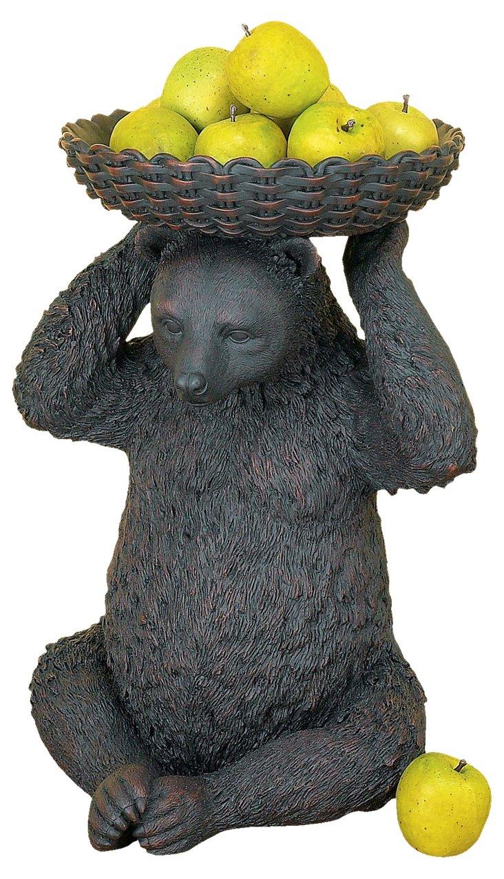 Bear w/ Basket on Head