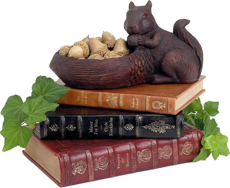 Squirrel w/ Acorn Bowl