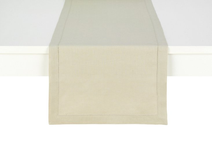 Table Runner, Flax