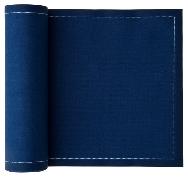 S/50 Cocktail Napkins,  Midnight Blue