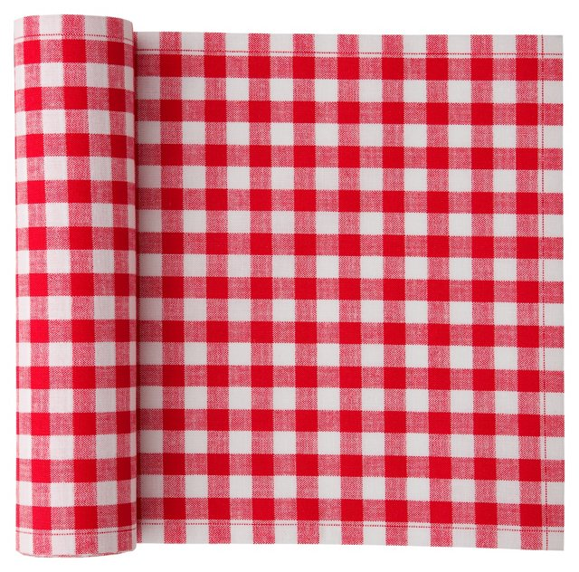 S/20 Luncheon Napkins, Red Gingham
