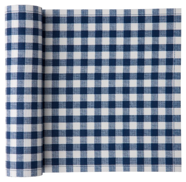 S/20 Luncheon Napkins, Blue Gingham