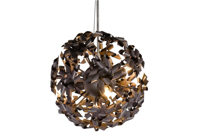 Pinwheel 3-Light Mini Pendant