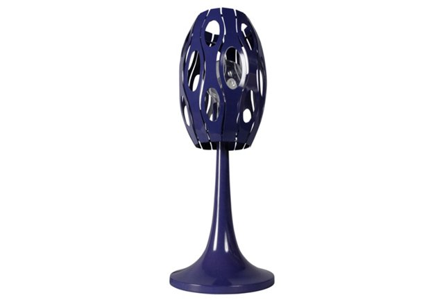 Masquerade Table Lamp, Grape