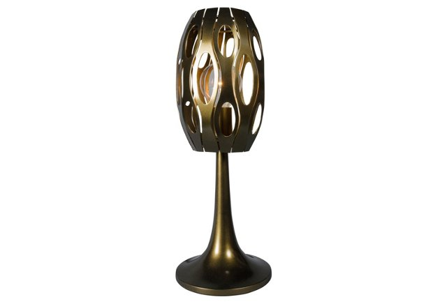 Masquerade Table Lamp, Statue Garden