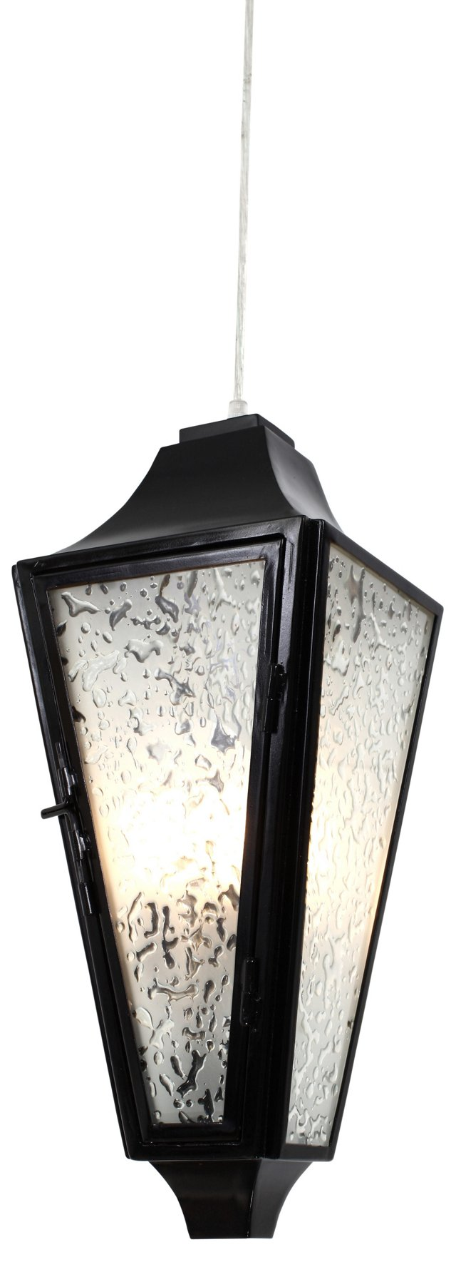 Longfellow 3-Light Pendant, Black