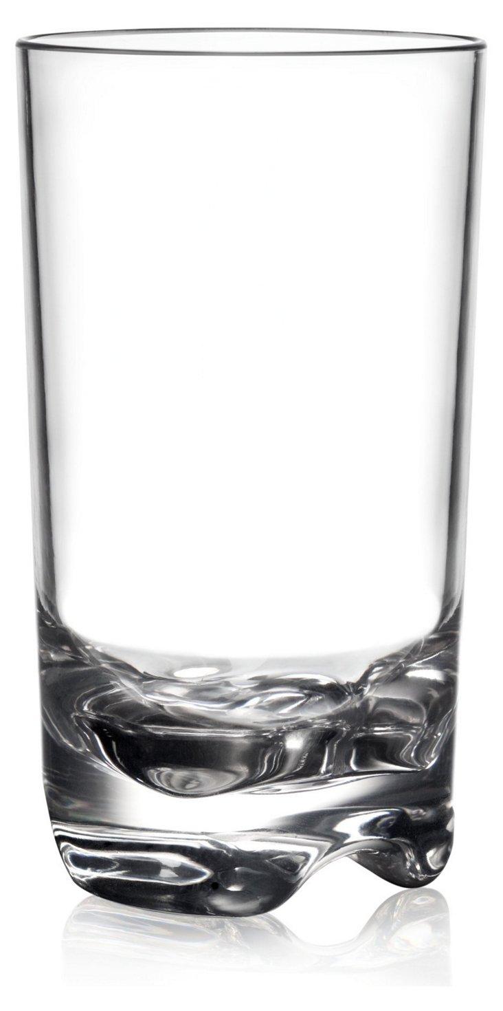 S/6 Hudson Unbreakable Tall Glasses
