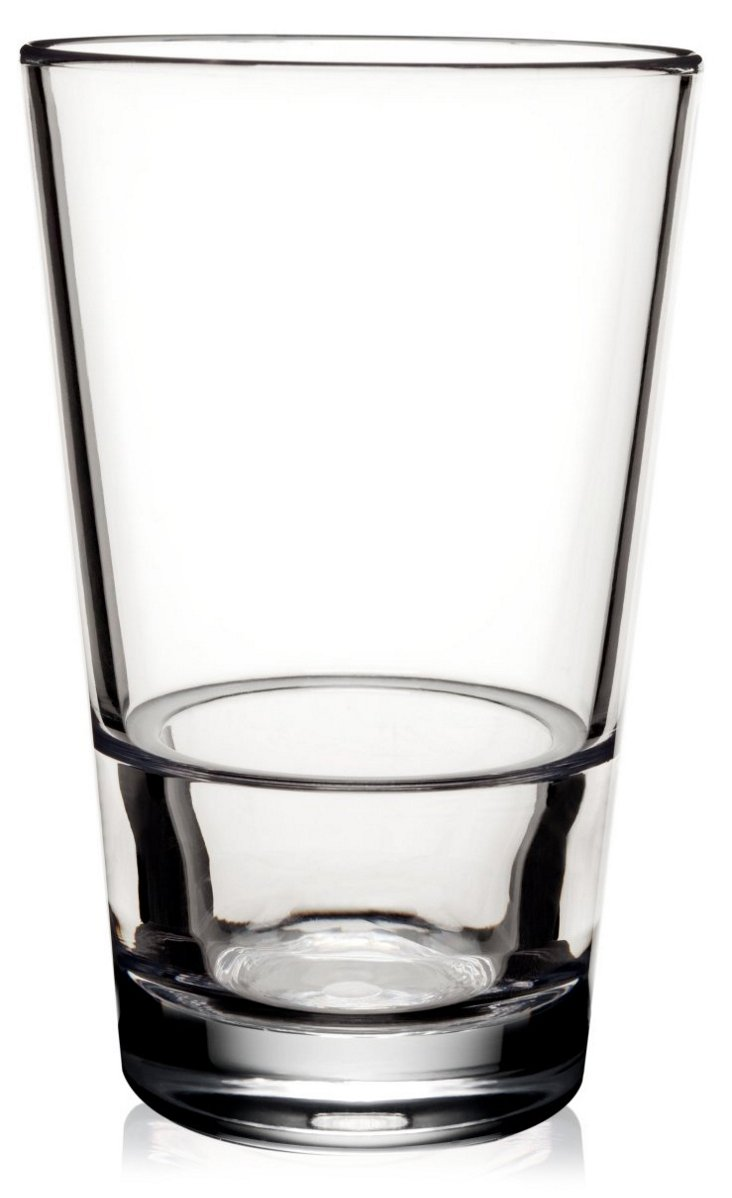 S/6 Staxx Unbreakable Tall Glasses