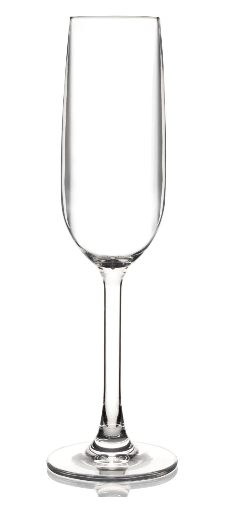 S/6 Unbreakable Champagne Flutes
