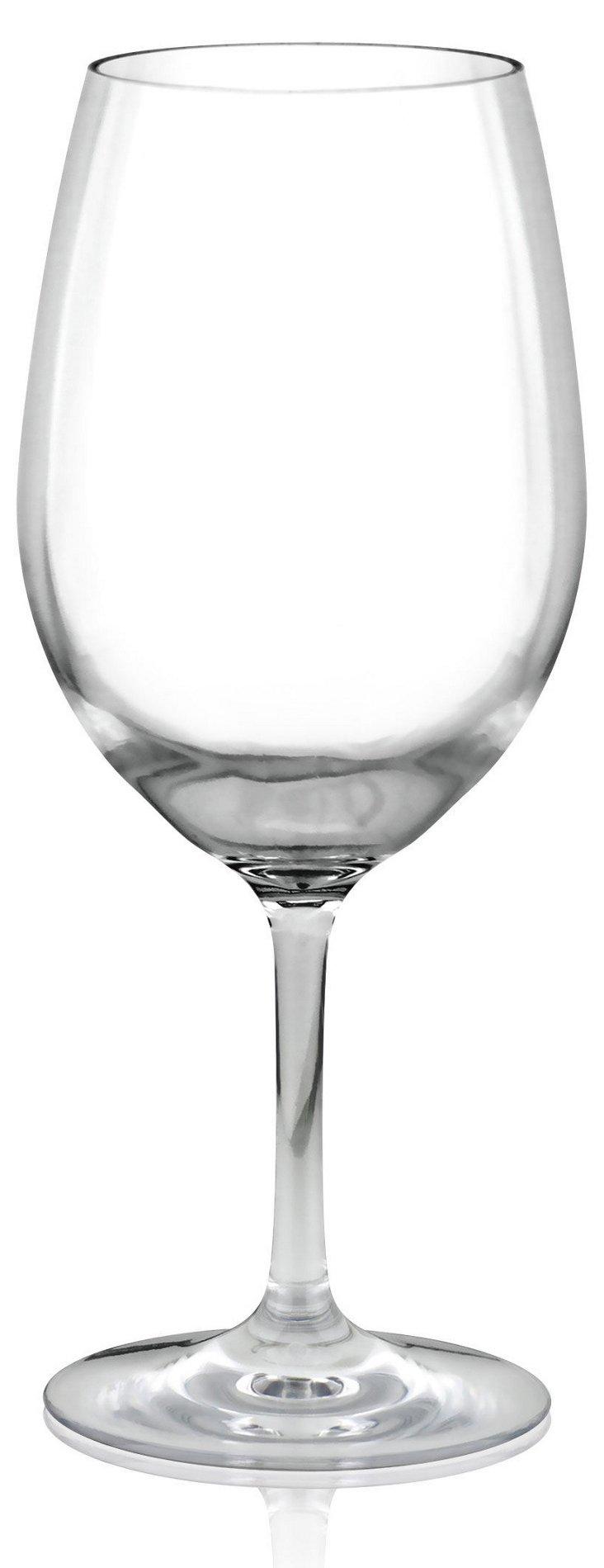 S/4 Unbreakable Wineglasses
