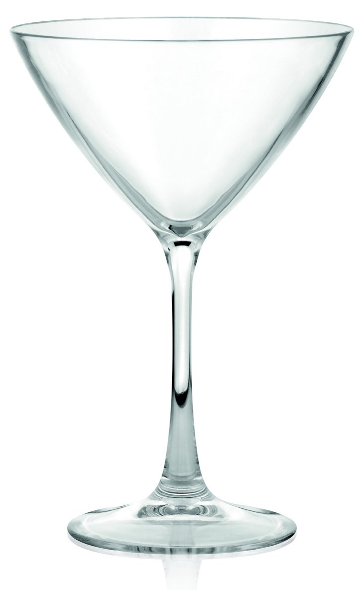 S/4 Unbreakable Martini Glasses