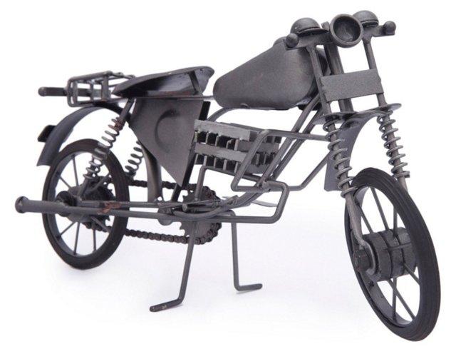 Motorcycle Desk Figurine