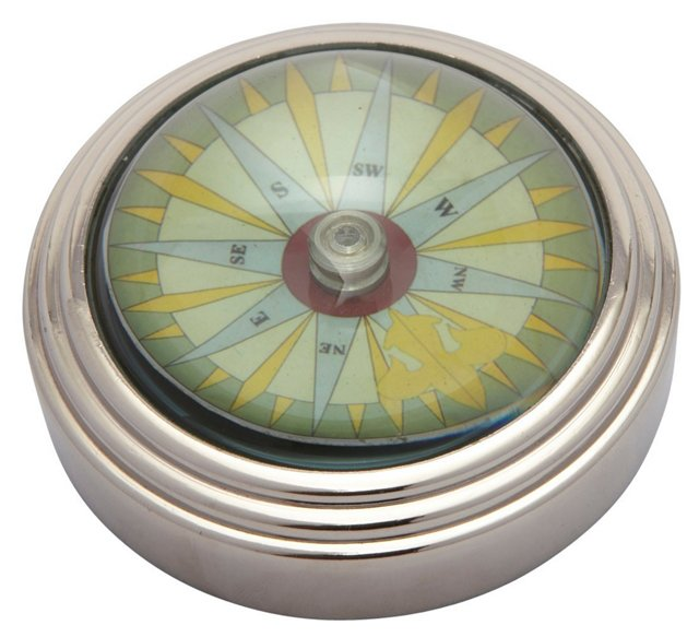 Compass Paperweight