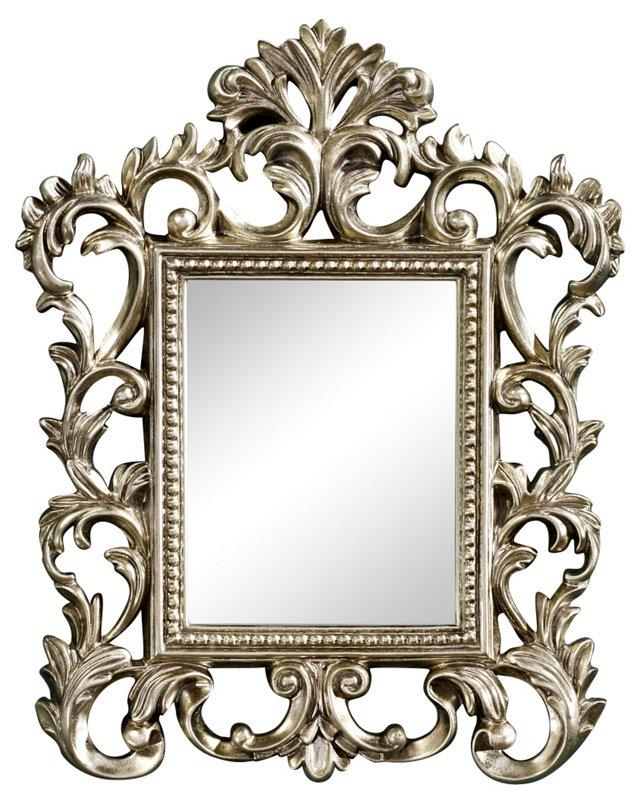 Prospect Accent Mirror, Silver