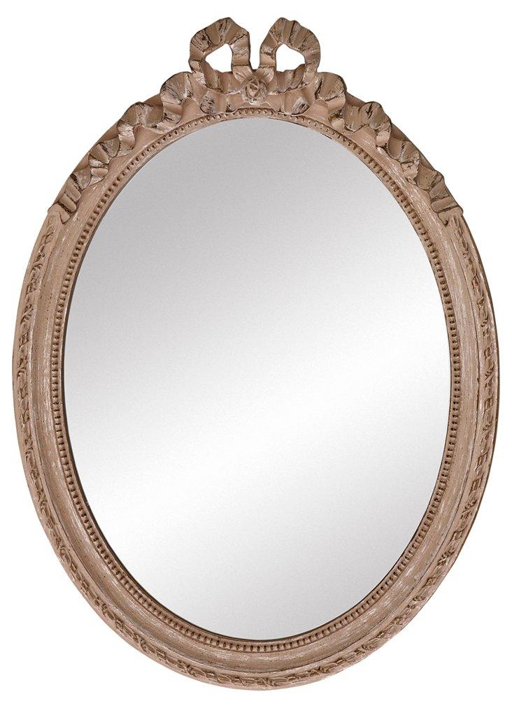 Concord Accent Mirror, Beige