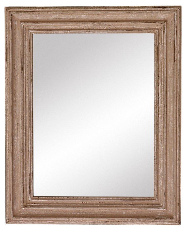 Gilford Accent Mirror, Beige
