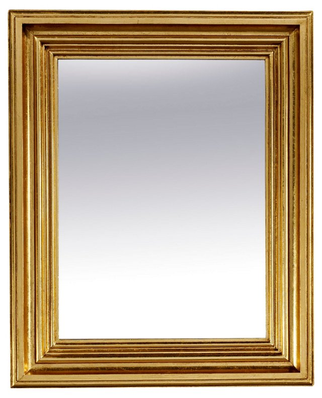 Madison Accent Mirror, Gold