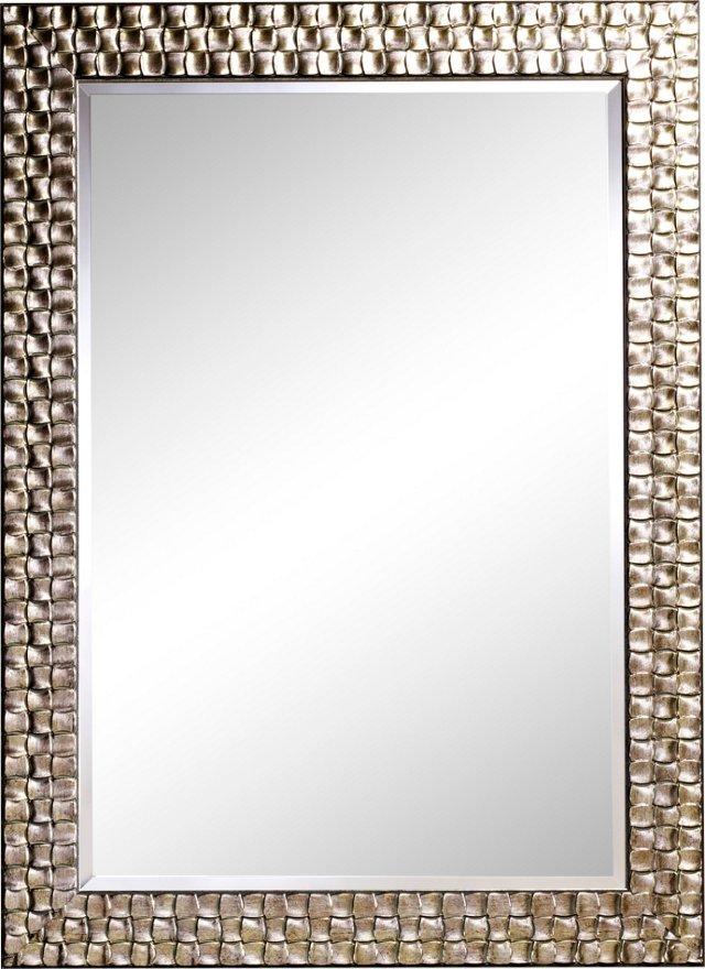 Alben Wall Mirror, Silver