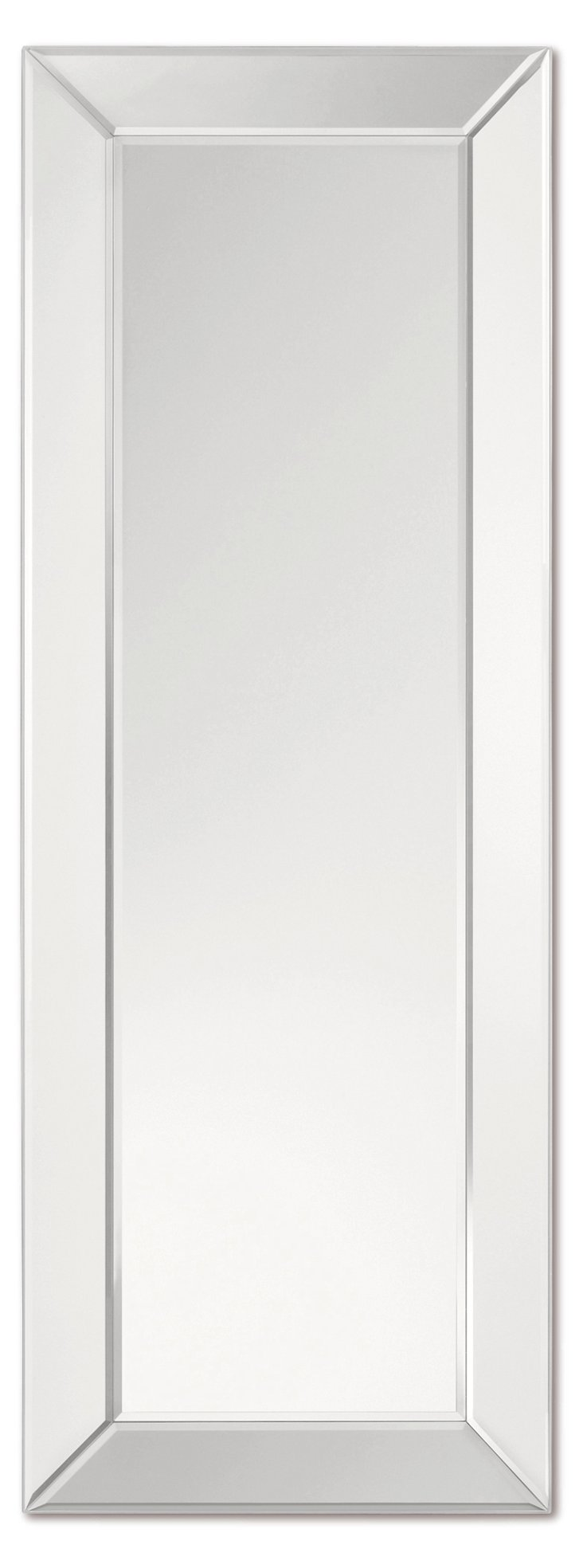 Roosevelt Floor Mirror, Clear