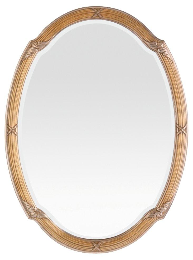 Bridger Wall Mirror, Gold