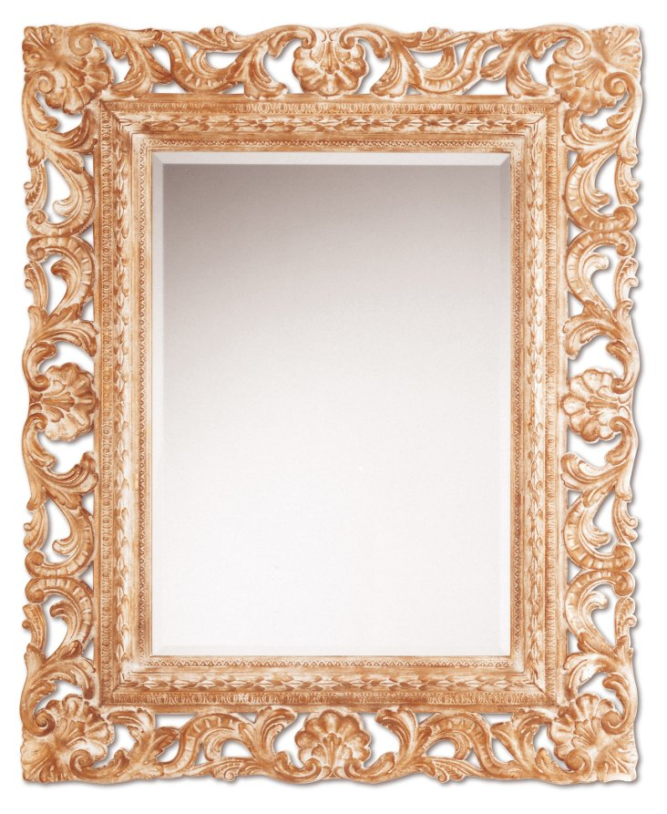Darby Wall Mirror, Gold