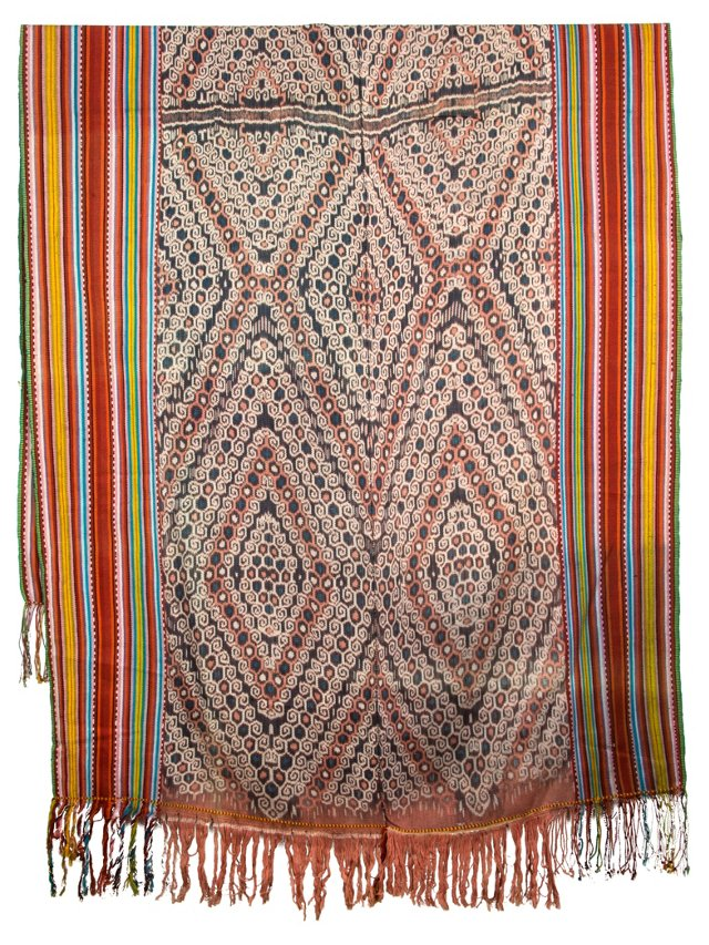 Timorese Cotton Ikat Panel