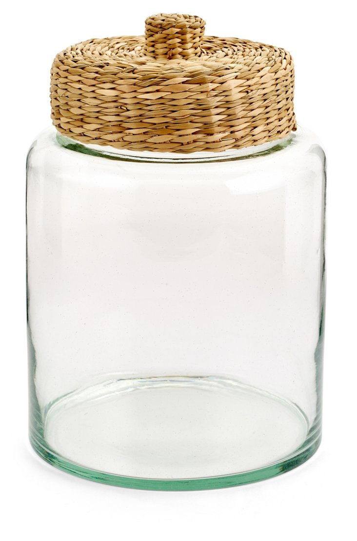 3 Qt Willow Canister, Natural