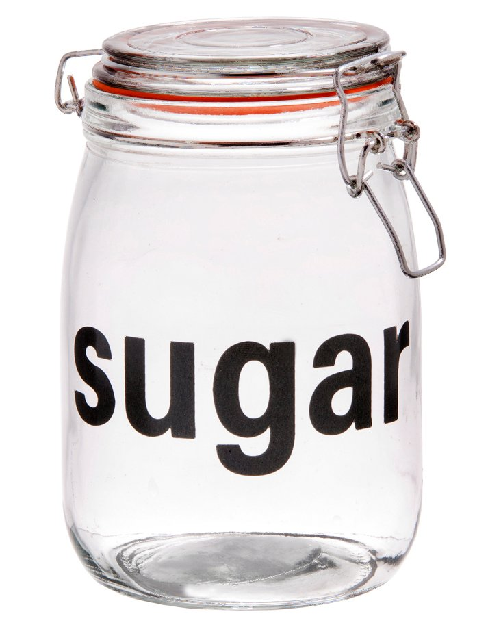 "S/2 Preserve ""Sugar"" Bail & Trigger Jars"