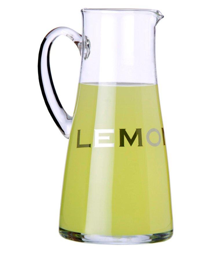 "Glass ""Lemon"" Pitcher"