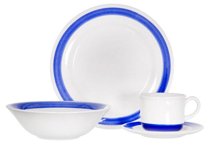 16-Pc Corona Iris Dinnerware Set