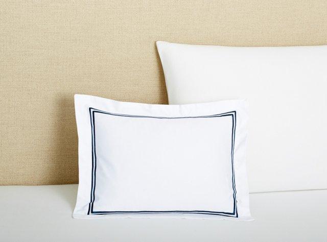 Boudoir Pillow, Navy
