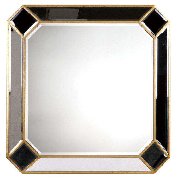 Carly Wall Mirror, Gold