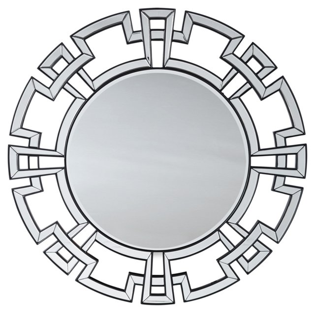 Orme Oversize Mirror, Silver