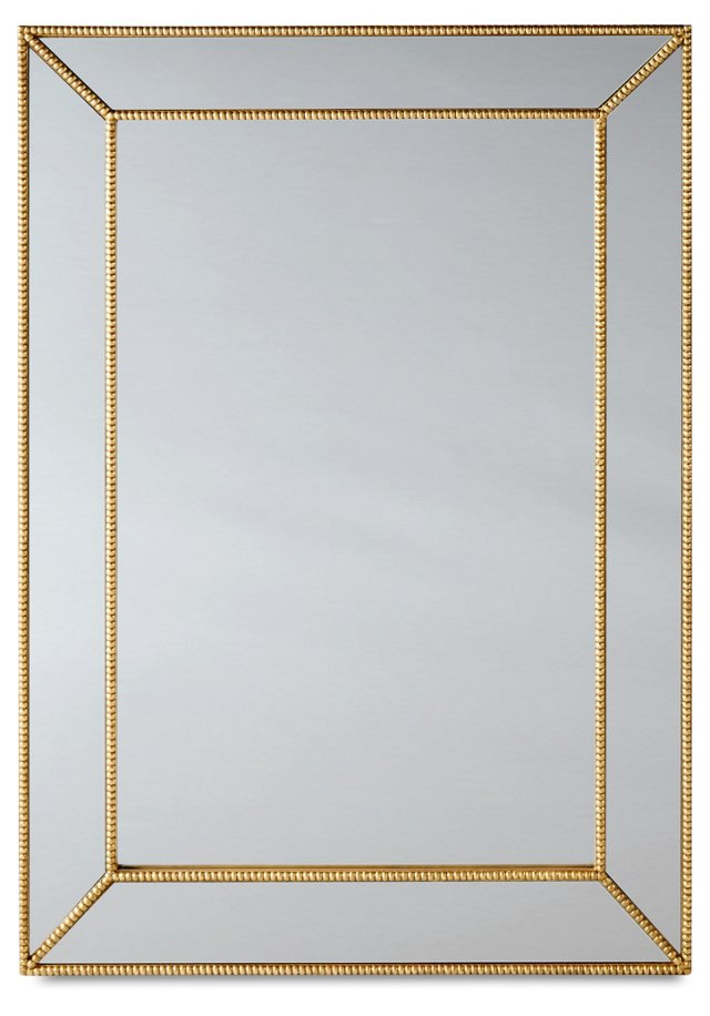 Vassily Oversize Mirror, Gold