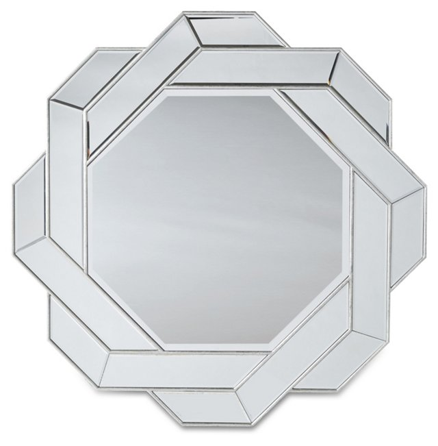 Nancy Wall Mirror, Clear
