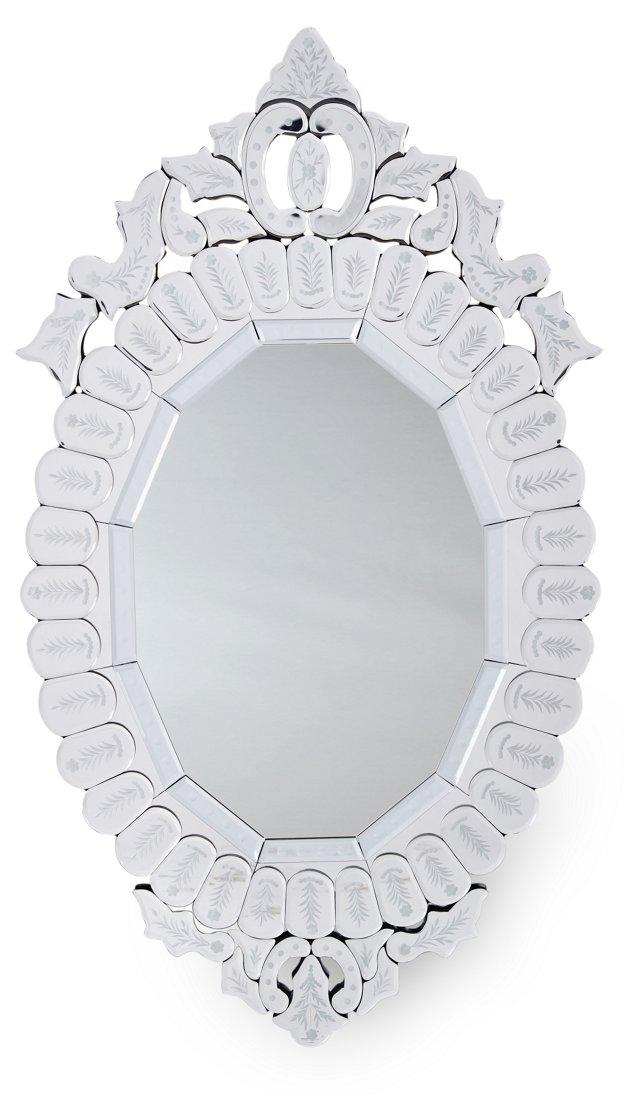 Beckley Wall Mirror, Clear