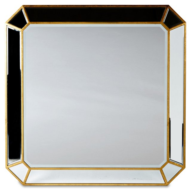 Clarity Wall Mirror, Gold