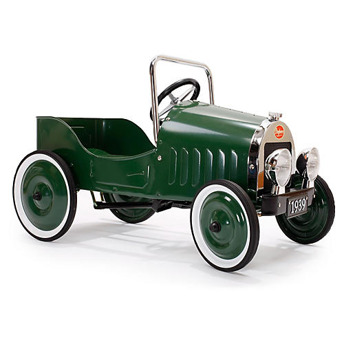 Pedal Toy Car, Green