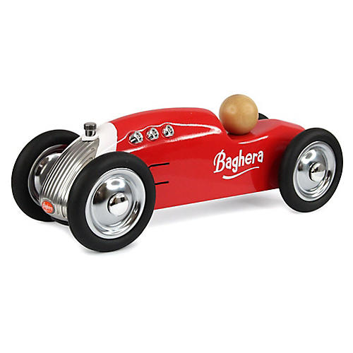 Rocket Toy Car, Red