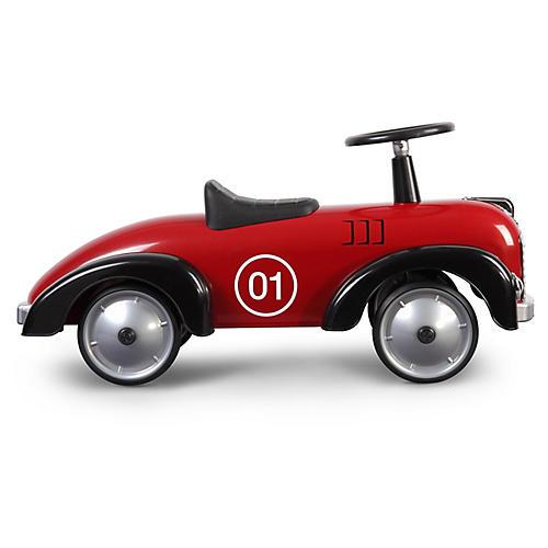 Speedster Toy Car, Dark Red