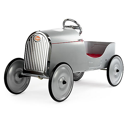Legend Pedal Toy Car, Silver