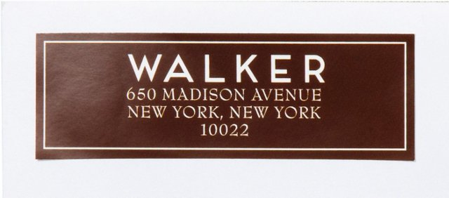S/80 Custom Address Labels, Frame