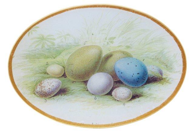 7x10 Eggs Decoupage Tray